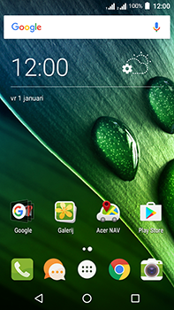 Acer Liquid Zest 4G Plus DualSim - Applicaties - Account instellen - Stap 24