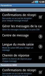 Samsung I9000 Galaxy S - SMS - configuration manuelle - Étape 4