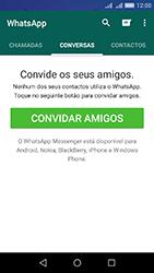 Huawei Y6 - Aplicações - Como configurar o WhatsApp -  9