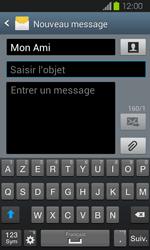 Samsung Galaxy Express - Contact, Appels, SMS/MMS - Envoyer un MMS - Étape 11