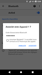 Sony Xperia XZ - Android Oreo - Bluetooth - connexion Bluetooth - Étape 10