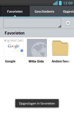 LG E460 Optimus L5 II - Internet - Internetten - Stap 12