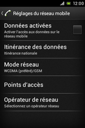 Sony ST23i Xperia Miro - Internet - configuration manuelle - Étape 7