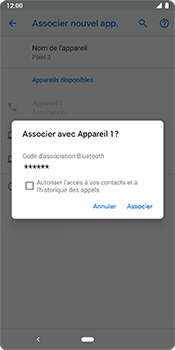 Google Pixel 3 - Bluetooth - Jumeler avec un appareil - Étape 10