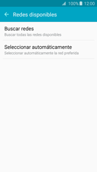 Samsung Galaxy A3 (2016) - Red - Seleccionar una red - Paso 6