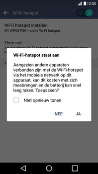 LG G4 - WiFi - Mobiele hotspot instellen - Stap 10