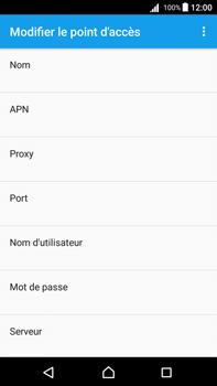 Sony Xperia Z5 Premium (E6853) - Android Nougat - Internet - Configuration manuelle - Étape 11