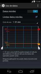Motorola Moto X (2ª Gen) - Internet - Ver uso de datos - Paso 11