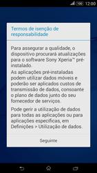 Sony Xperia E4 - Primeiros passos - Como ligar o telemóvel pela primeira vez -  12