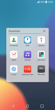 LG Q6 (LG M700n) - Contacten en data - Contacten kopiëren van SIM naar toestel - Stap 4