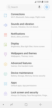Samsung Galaxy S8 - Android Oreo - Network - Enable 4G/LTE - Step 4