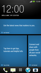 HTC One - Internet - Popular sites - Step 2