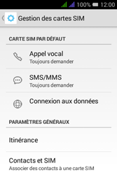 Alcatel Pixi 3 Dual Sim - Aller plus loin - Désactiver les données à l'étranger - Étape 5