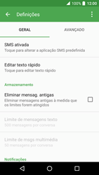 Alcatel Idol 4 VR - SMS - Como configurar o centro de mensagens -  6