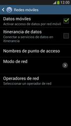 Samsung Galaxy S4 Mini - Internet - Activar o desactivar la conexión de datos - Paso 6