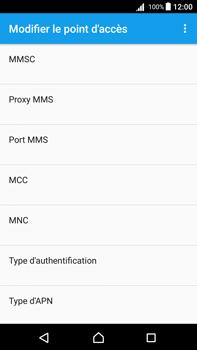 Sony Xperia Z5 Premium (E6853) - Android Nougat - Internet - Configuration manuelle - Étape 13
