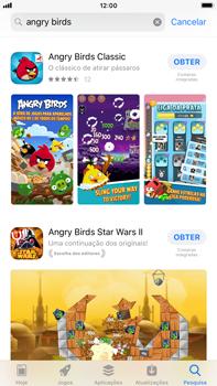 Apple iPhone 8 Plus - iOS 12 - Aplicações - Como pesquisar e instalar aplicações -  12