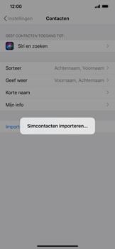 Apple iphone-xs-max-met-ios-13-model-a1921 - Contacten en data - Contacten kopiëren van SIM naar toestel - Stap 5
