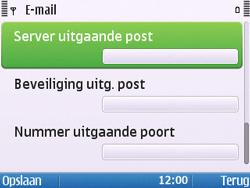 Nokia E5-00 - E-mail - handmatig instellen - Stap 17