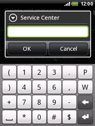 HTC A3333 Wildfire - SMS - Manual configuration - Step 7