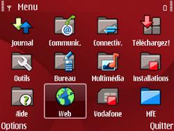 Nokia E63 - Internet - Navigation sur Internet - Étape 2