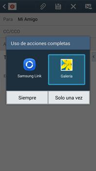 Samsung Galaxy Note 3 - E-mail - Escribir y enviar un correo electrónico - Paso 13