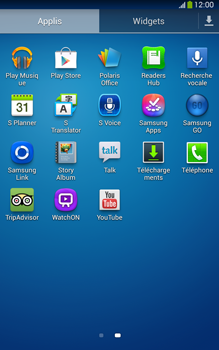 Samsung T315 Galaxy Tab 3 8-0 LTE - Messagerie vocale - Configuration manuelle - Étape 3