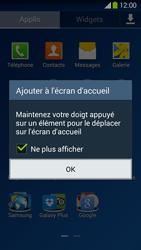 Samsung Galaxy Grand 2 4G - Applications - Personnaliser l