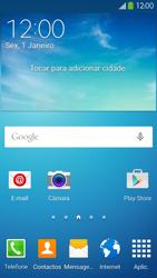 Samsung Galaxy S4 LTE - Email - Adicionar conta de email -  2