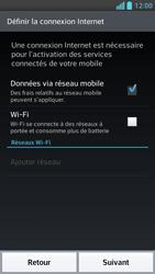 LG Optimus F5 - Premiers pas - Créer un compte - Étape 3