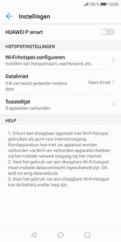Huawei P Smart (Model FIG-LX1) - WiFi - Mobiele hotspot instellen - Stap 7
