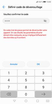 Huawei P Smart - Sécuriser votre mobile - Activer le code de verrouillage - Étape 11