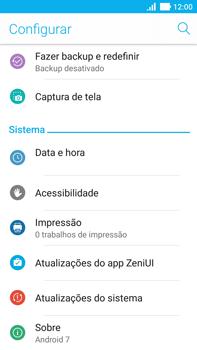 Asus Zenfone 3 - Primeiros passos - Como encontrar o número de IMEI do seu aparelho - Etapa 4