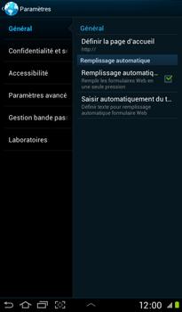 Samsung P3100 Galaxy Tab 2 7-0 - Internet - configuration manuelle - Étape 20