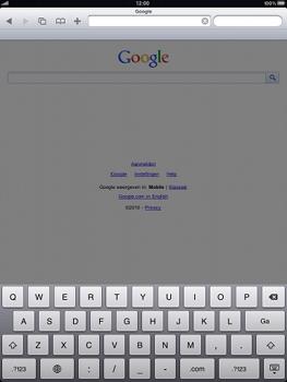 Apple iPad 2 - Internet - Hoe te internetten - Stap 7