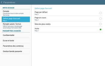 Samsung T535 Galaxy Tab 4 10-1 - Internet - Configuration manuelle - Étape 24