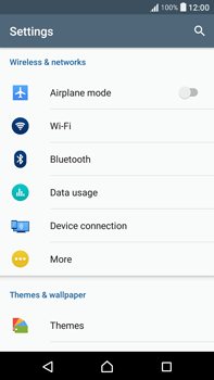 Sony F3211 Xperia XA Ultra - Network - Usage across the border - Step 4
