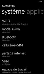 Nokia Lumia 530 - Internet - activer ou désactiver - Étape 4