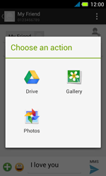 Acer Liquid Z4 - Mms - Sending a picture message - Step 13