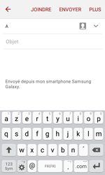 Samsung Galaxy J1 (2016) (J120) - E-mail - envoyer un e-mail - Étape 4