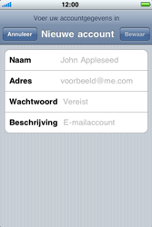 Apple iPhone 3G - E-mail - Handmatig instellen - Stap 8