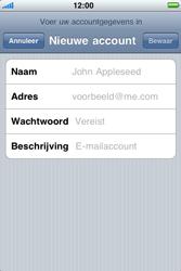 Apple iPhone 3G - E-mail - Handmatig instellen - Stap 8