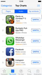 Apple iPhone iOS 7 - Aplicativos - Como baixar aplicativos - Etapa 8