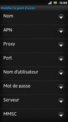 Sony ST25i Xperia U - Internet - configuration manuelle - Étape 12