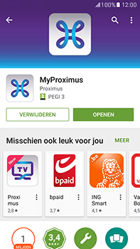 Samsung Galaxy J7 (2016) (J710) - Applicaties - MyProximus - Stap 11