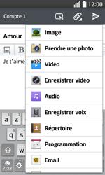 LG F70 - E-mails - Envoyer un e-mail - Étape 11