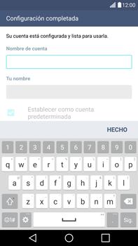LG G4 - E-mail - Configurar correo electrónico - Paso 17