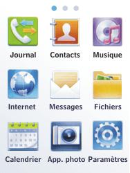 Samsung C3300K - Internet - Configuration manuelle - Étape 3