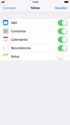 Apple iPhone 6 - iOS 11 - E-mail - Configurar Yahoo! - Paso 8