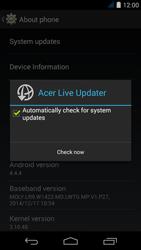 Acer Liquid Jade S - Network - Installing software updates - Step 7